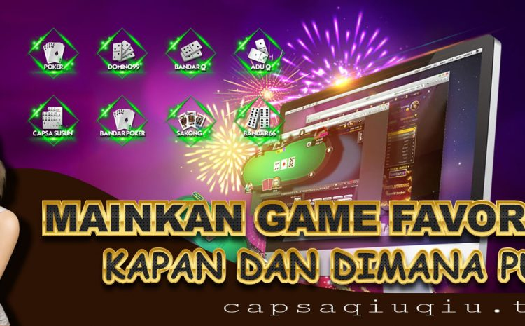 Legalization For Online Gambling